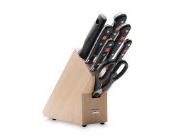 Набор ножей 7 предметов в подставке, Wuesthof 9835-200 Classic