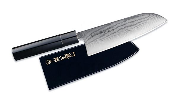 Wa-Urushi FD-647 Поварской нож Сантоку (в ножнах)