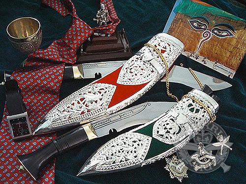 Кукри нож Nepal Kukri House 10'' Kothimora 10'' red