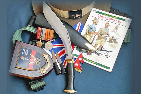 Кукри нож Nepal Kukri House 10'' World War 2 Horn, KH0004