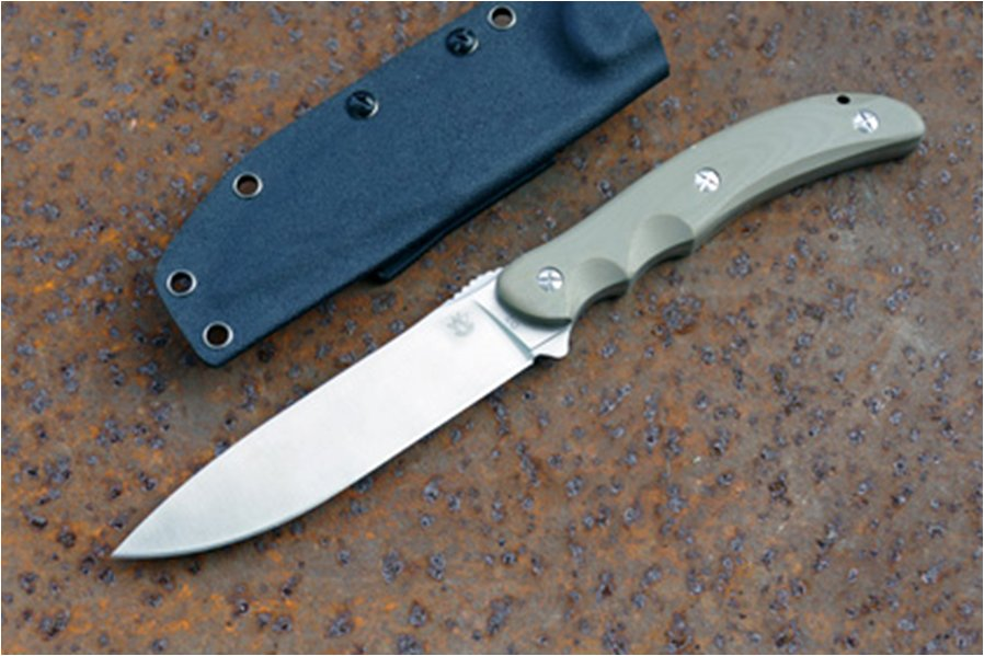 Туристический нож Steelclaw Бастион bastion beige