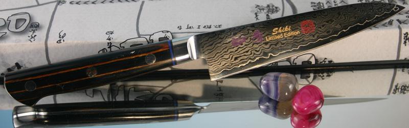 Универсальный кухонный нож Hiro Shiki SKE-1, 12 см.