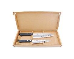 Набор из 2 ножей: Сантоку и универсальный Tojiro FG-131