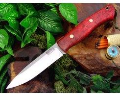 Нож туристический Bark River Aurora Scarlet Gold Elder