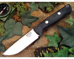 Нож туристический Bark River Bravo 1 3VR Black Canvas FHG Rampless Matte