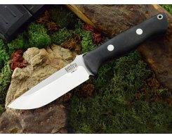 Нож туристический Bark River Bravo 1 3VR Black Canvas Matte