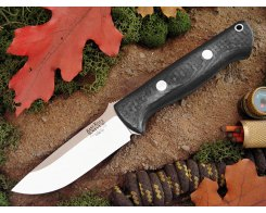 Нож туристический Bark River Bravo 1 3VR Black Carbon Fiber