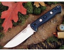 Нож туристический Bark River Bravo 1 3VR Blue-Black G-10