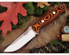 Нож туристический Bark River Bravo 1 3VR Tigerstripe G-10