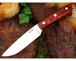 Нож туристический Bark River Fox River Amboynia Burl