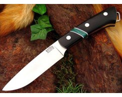 Нож туристический Bark River Fox River BCM Jade Malachite Spacer