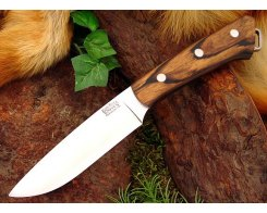 Нож туристический Bark River Fox River Black White Ebony