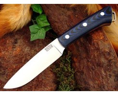 Нож туристический Bark River Fox River Blue & Black G-10