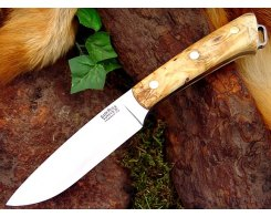 Нож туристический Bark River Fox River Buckeye Burl