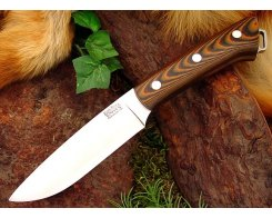 Нож туристический Bark River Fox River Tigerstripe G-10