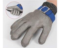Перчатка Batex NR.650.24 M, металлическая, защитная от порезов