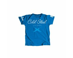 Футболка женская Cold Steel TK2 Cursive Blue Tee Shirt Wo