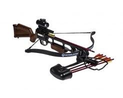 Арбалет рекурсивный Скорпион Pkg Ek Jag 1 Deluxe, Ek Archery/Poe Lang CR-013WA4NS-95, пластик под дерево