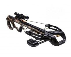 Арбалет блочный Ek Archery/Poe Lang Guillotine-X 400 Plus c комплектацией, Ek Archery/Poe Lang CR-062MP-95, камуфляж