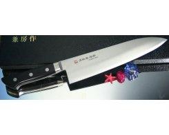 Разделочный нож Fujiwara Western Deba FKM-14, 24 см.