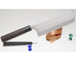 Кухонный нож Kajibee Aogami Regular Nakiri 165 мм
