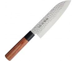 Поварской кухонный нож Сантоку Kanetsune KC-952, 165 мм.
