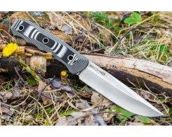 Туристический нож Kizlyar Supreme 005534 Echo Niolox Satin