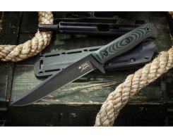 Тактический нож Kizlyar Supreme 009922 Intruder D2 Black Titanium