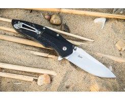 Складной нож Kizlyar Supreme 1596 Zedd D2 Satin, 85 мм.
