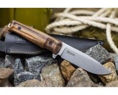 Туристический нож Kizlyar Supreme 2246 Sturm, AUS-8 Орех