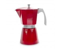 Кофеварка гейзерная на 12 чашек для всех типов плит IBILI Evva 623212, цвет красный