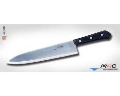 Кухонный поварской нож MAC Chef BK-100, Chef 255 мм.