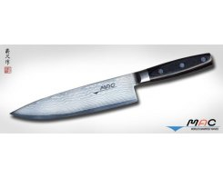 Кухонный поварской нож MAC Damascus DA-BK-200 Chef, 200 мм.
