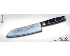 Кухонный нож Сантоку MAC Damascus DA-SK-180 Santoku, 18 см.