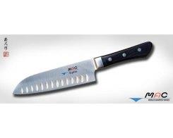 Кухонный нож Сантоку MAC Professional MSK-65 Santoku с проточкой 170 мм.