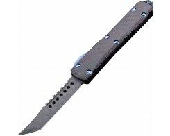 Фронтальный выкидной нож Microtech Ultratech Hellhound Signature Series 119-16CFTI