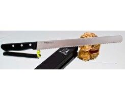 Нож для хлеба Misono Molibden Steel Slicer (Serrated) 360 мм.