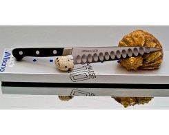 Универсальный нож Misono UX10 Steel с проточкой Petty 130 мм.