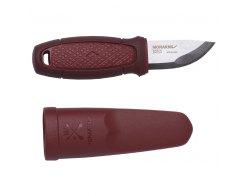Нож Morakniv Eldris, цвет красный, ножны, шнурок, огниво, 13524