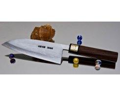 Кухонный нож Moritaka AS Damaskus Deba 150 мм.