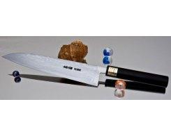 Поварской кухонный нож Moritaka AS Damaskus Gyuto 240 мм.