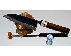 Кухонный нож Сантоку Moritaka AS Small Santoku 130 мм.