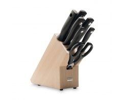 Набор ножей 6 предметов в подставке Wuesthof 9864 Silverpoint
