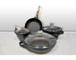 Набор посуды Risoli Fusion-Steel.  7 предметов
