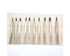 Набор для резьбы по дереву Yoshiharu W-10, 10 резцов