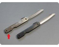 Складной нож хигоноками Nagao Higonokami HKC-70Silver