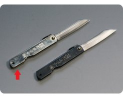 Складной нож хигоноками Nagao Higonokami HKI-70Silver