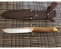 "Нож ""Финка НКВД"", сталь 65х18, сапели, 2,4 мм., 14,5 см."