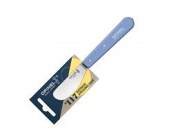 Нож для масла Opinel №117, нержавеющая сталь, синий, 70 мм.