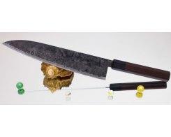 Поварской нож Takeda Hocho AS, Sasanoha 300 мм.